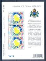 B35- San Marino 2008. European Year Of Intercultural Dialogue Package. - San Marino