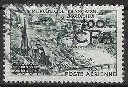 REUNION POSTE AERIENNE BORDEAUX N° 49 OBLITERATION CACHET A DATE - Réunion (1852-1975)