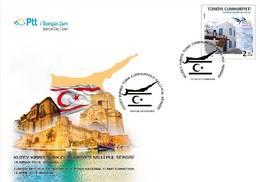 AC - TURKEY FDC - TURKISH REPUBLIC OF NORTHERN CYPRUS NATIONAL STAMP EXHIBITION Ankara, 15 APRIL2019 - 1921-... República