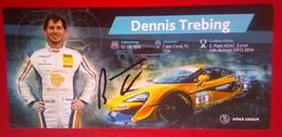 Dennis Trebing (Dorr Group) - Handtekening