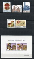 Andorra 1987. Completo ** MNH. - Spanisch Andorra