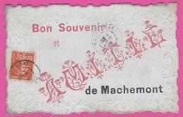 MACHEMONT - CP Fantaisie : Bon Souvenir Et , AMITIE - France