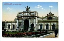 Bruxelles - La Gare Du Midi (1919) - Chemins De Fer, Gares