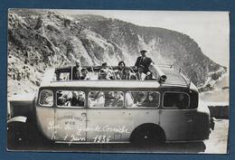 NICE - Carte Photo  - Phocéens Cars  - Sur La Grande Corniche 1936 - Autres
