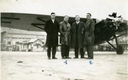 France Aviation Farman 190 Marcel Goulette & Marcel Lallouette Ancienne Photo 1930 - Luftfahrt