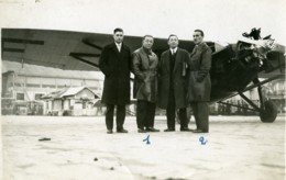 France Aviation Farman 190 Marcel Goulette & Marcel Lallouette Ancienne Photo 1930 - Luchtvaart