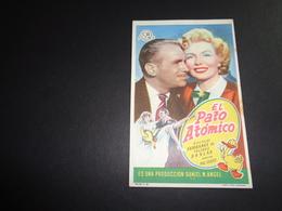 Artiste ( 286 )  Acteur - Affichette Espagnol Cinéma  Ciné Espagne  Espana  ( Blanco Au Verso ) : Douglas Fairbanks - Publicité Cinématographique