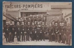 ANTIBES - Sapeurs Pompiers - Zonder Classificatie