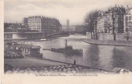 BE17- ACHAT IMMEDIAT PARIS LA SEINE A TRAVERS PARIS  LA SEINE EN AMONT DE LA CITE - Non Classificati
