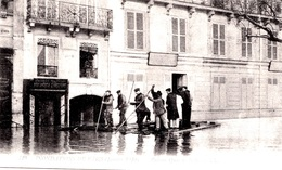 PARIS INONDATIONS - LE RADEAU QUAI DE BILLY - Bb-1005 - Paris Flood, 1910