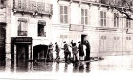 PARIS INONDATIONS - LE RADEAU QUAI DE BILLY - Bb-1005 - Inondations De 1910