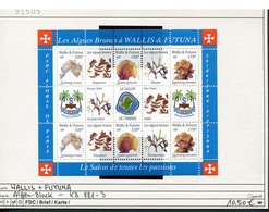 Wallis & Futuna - Michel 881-883 Im Kleinbogen / MF -  ** Mnh Neuf Postfris - Algen - Wallis Und Futuna