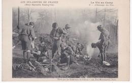 Les Eclaireurs De France - Boy-Scouts Français - La Vie Au Camp - Allumage Du Feu - Ed. Eclaireurs, Paris - Pfadfinder-Bewegung