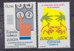 Europa Cept 2006 Spain 2v  ** Mnh (43972D) - 2006