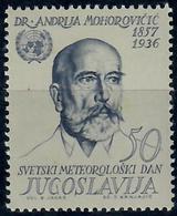 JUGOSLAVIA - 1963 - GIORNATA DEL WMO. CON DIFETTI. - MNH** - 1945-1992 Repubblica Socialista Federale Di Jugoslavia