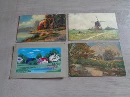 Beau Lot De 60 Cartes Postales De Fantaisie Paysages Paysage Mooi Lot Van 60 Postkaarten Fantasie Landschappen Landschap - 5 - 99 Postcards
