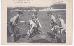Les Eclaireurs De France - Boy-Scouts Français - La Vie Au Camp - La Toilette - Ed. Eclaireurs, Paris - Scoutisme
