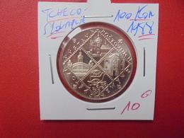 TCHECOSLOVAQUIE 100 KORUN 1988 ARGENT (A.8) - Tchécoslovaquie