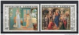 Gabón 1975. Yvert A150-51 ** MNH. - Gabón (1960-...)