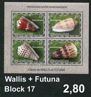 Wallis & Futuna - Michel Block 17 -  ** Mnh Neuf Postfris - - Ungebraucht