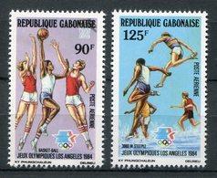 Gabón 1983. Yvert A 254-55 ** MNH. - Gabón (1960-...)