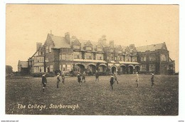 UNITED  KINGDOM -  SCARBOROUGH:  THE  COLLEGE  -  TO  GERMANY  -  STAMP  REMOVED  -  FP - Scuole