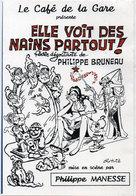 """GOTLIB - Le Café De La Gare Présente """"Elle Voit Des Nains Partout""""  (115179) - Otros Ilustradores"""
