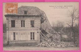 MACHEMONT - CP 16 - La Poste Du Fond (1918) - - France