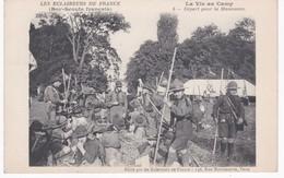 Les Eclaireurs De France - Boy-Scouts Français - La Vie Au Camp - Départ Pour La Manoeuvre - Ed. Eclaireurs, Paris - Movimiento Scout