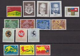 Liechtenstein 1969 Year (see Scan) ** Mnh (43973) - Liechtenstein