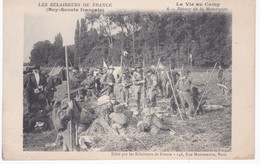 Les Eclaireurs De France - Boy-Scouts Français - La Vie Au Camp - Retour De La Manoeuvre - Ed. Eclaireurs, Paris - Scoutisme