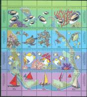 B68- Cocos Islands. Australia. Marine Life. Aquarium Fish. - Fishes