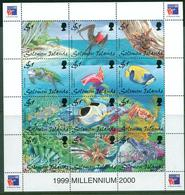 B75- Soloman Islands. Birds. Fish.Marine Life. Aquarium Fish. - Fische