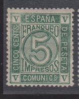 1867 Clásico Isabel II Cifras Edifil 93* V. Catalogo 58,00€ - Ungebraucht