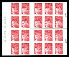 Carnet CAO -LUQUET La Poste (Un Plaisir...) -  ERREUR De Date - 50.06.00 Au Lieu De 30.06.00 - YT 3085-C3e - Postzegelboekjes