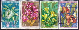 British Honduras 1969 SG #268-71 Compl.set Used Orchids (1st Series) - Honduras Britannico (...-1970)
