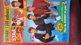 MAGAZINE STAR CLUB 1989. N° 23 (Scan Sommaire) - People