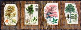British Honduras 1969 SG #272-75 Compl.set Used Indigenous Hardwoods (1st Series) - British Honduras (...-1970)