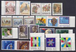 Liechtenstein 1983 Year (see Scan) ** Mnh (43974) - Liechtenstein
