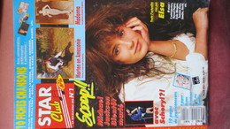 MAGAZINE STAR CLUB 1989. N° 21 (Scan Sommaire) - People