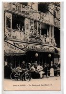 PARIS LA TAVERNE DU NEGRE BRASSERIE BD ST DENIS TRES ANIMEE - Pubs, Hotels, Restaurants