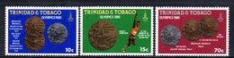 APR141 - TRINIDAD TOBAGO 1980 , Serie Yvert N. 421/423 ***   (2380A) . MOSCA - Trindad & Tobago (1962-...)