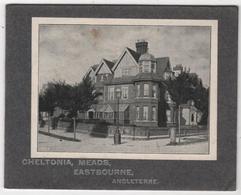 Carte Publicitaire CHELTONIA MEADS EASTBOURNE ENGLAND - Eastbourne
