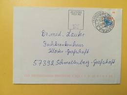 2000 BUSTA GERMANIA DEUTSCHE BOLLO EXPO ANNULLO FRANKENBERG  GERMANY - [7] Repubblica Federale