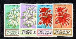 APR129 - TRINIDAD TOBAGO 1977 , Serie Yvert N. 362/365 ***   (2380A) .  NATALE CHRISTMAS - Trindad & Tobago (1962-...)