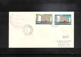 Guyana 1966 Bank Of Guyana FDC - Guyana (1966-...)