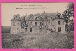 MACHEMONT - CP 27 - Ruines Du Chateau De St Amand - France