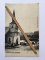 GENAPPE -BOUSVAL«ENVIRONS DE GENAPPE,ÉGLISE DE BOUSVAL»Panorama Animée,manège/Édit E.P. DOHET - BAUDES,Genappe. - Genappe