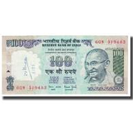 Billet, Inde, 100 Rupees, KM:91b, TB - Inde