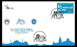 AC - TURKEY FDC - 36th EUROPEAN CONGRESS OFCYTOLOGY Istanbul, 22 SEPTEMBER 2011 - 1921-... República